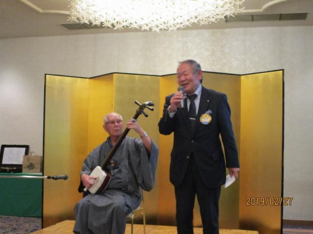 松尾会長と宮嵜さんのコラボ